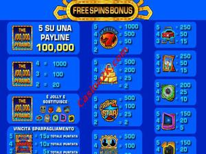 bonus 100000 Pyramid