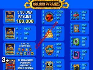 pagamenti 100000 Pyramid