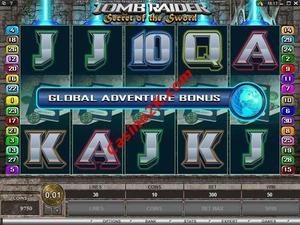bonus Tomb Raider Secret of the Sword