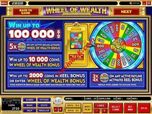 pagamenti Wheel of Wealth Special Edition