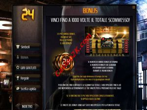bonus 24