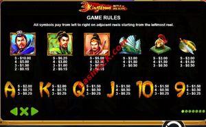 pagamenti 3 Kingdoms