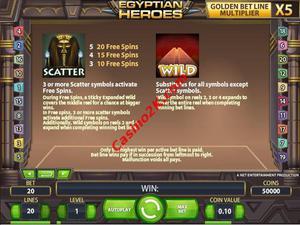bonus Egyptian Heroes