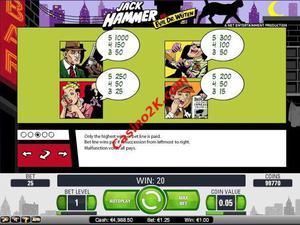 pagamenti Jack Hammer