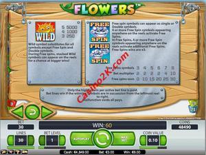 bonus Flowers