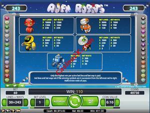 pagamenti Alien Robots
