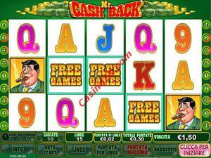 bonus Mr cash back