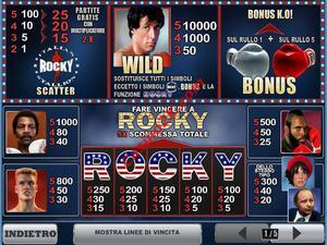 pagamenti Rocky