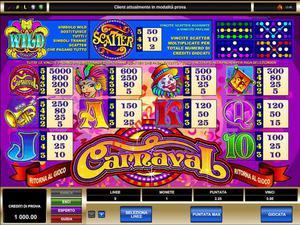pagamenti Carnaval