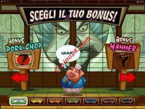 bonus Karate Pig