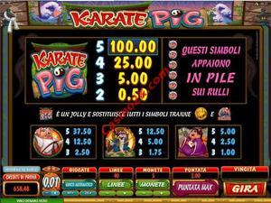 pagamenti Karate Pig
