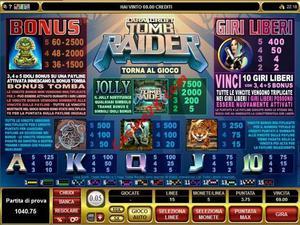 pagamenti Tomb Raider