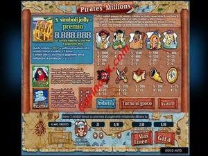 pagamenti Pirate Millions