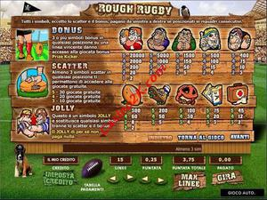 pagamenti Rough Rugby