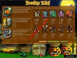 pagamenti Spooky slot