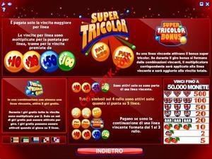 pagamenti Super Tricolor