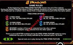 bonus 8 Dragons