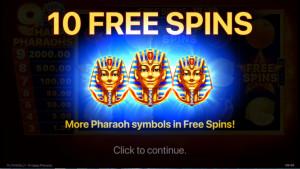 bonus 9 Happy Pharaohs