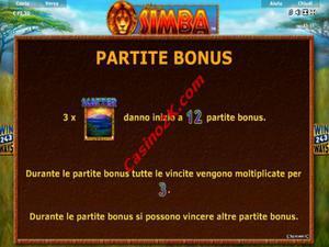 bonus African Simba