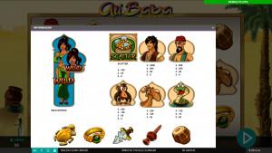 pagamenti Ali Baba and the 40 Thieves
