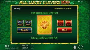 bonus All Lucky Clovers