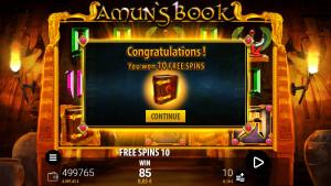 bonus Amun's Book