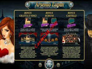 bonus Arsenio Lupin