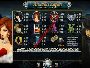 pagamenti Arsenio Lupin