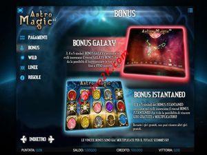 bonus Astro Magic