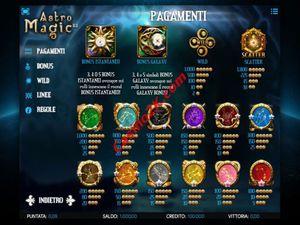 pagamenti Astro Magic