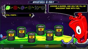 bonus Avventure in Orbita