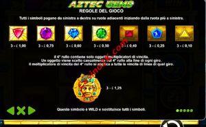 pagamenti Aztec Gems