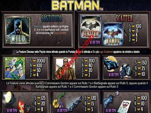 pagamenti Batman