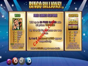 bonus Bingo Billions