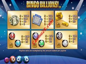 pagamenti Bingo Billions
