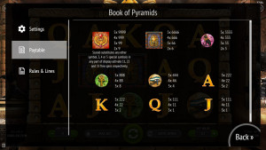 pagamenti Book Of Pyramids