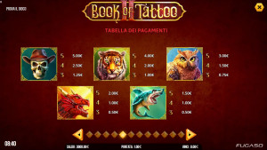 pagamenti Book of Tattoo 2