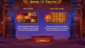 pagamenti Book of Truth
