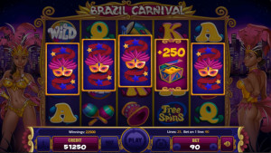bonus Brazil Carnival