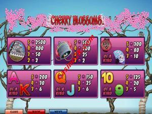 pagamenti Cherry Blossom