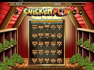 pagamenti Chicken Fox