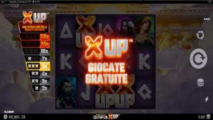 bonus Chronicles of Olympus X UP