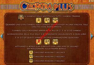 bonus Cleopatra Plus