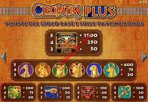 pagamenti Cleopatra Plus