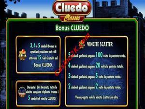 bonus Cluedo Classic