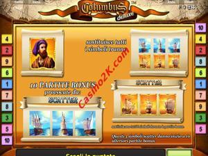 bonus Columbus Deluxe