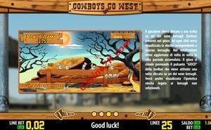 bonus Cowboys go West