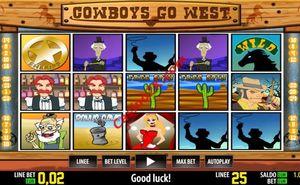 Cowboys go West