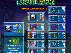 bonus Coyote Moon