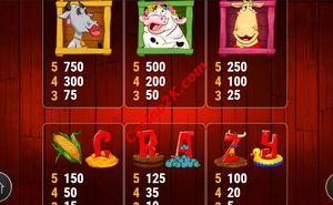 pagamenti Crazy Cows